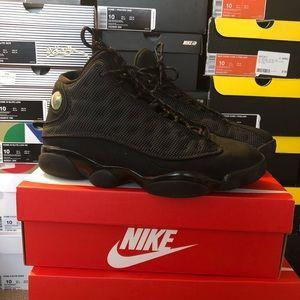 """competitive price c2b57 e5928 Jordan Shoes - Nike Air Jordan Retro XIII """"Black Cat"""" sz 10"""